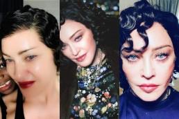 Madonna Dark Hair 2019