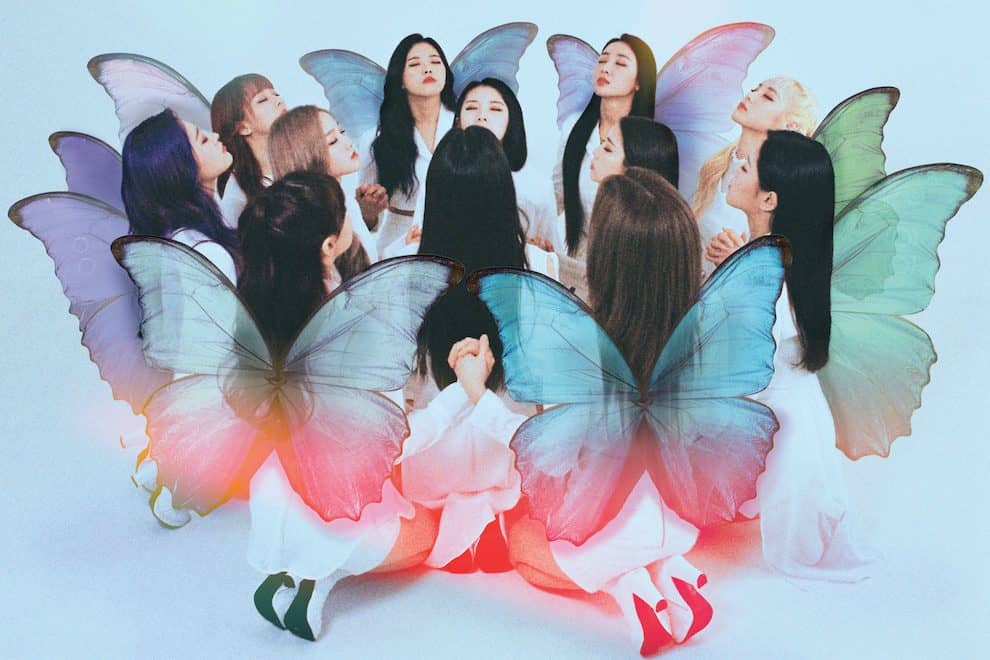 LOONA Butterfly LOOΠΔ
