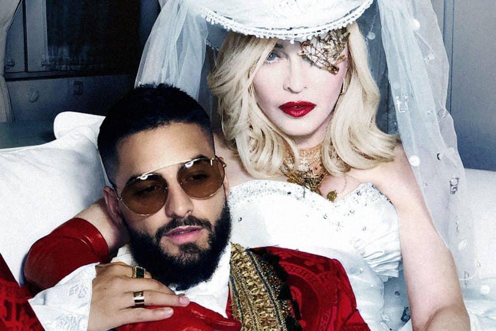 Madonna Maluma Press Shot Medellin Medellín