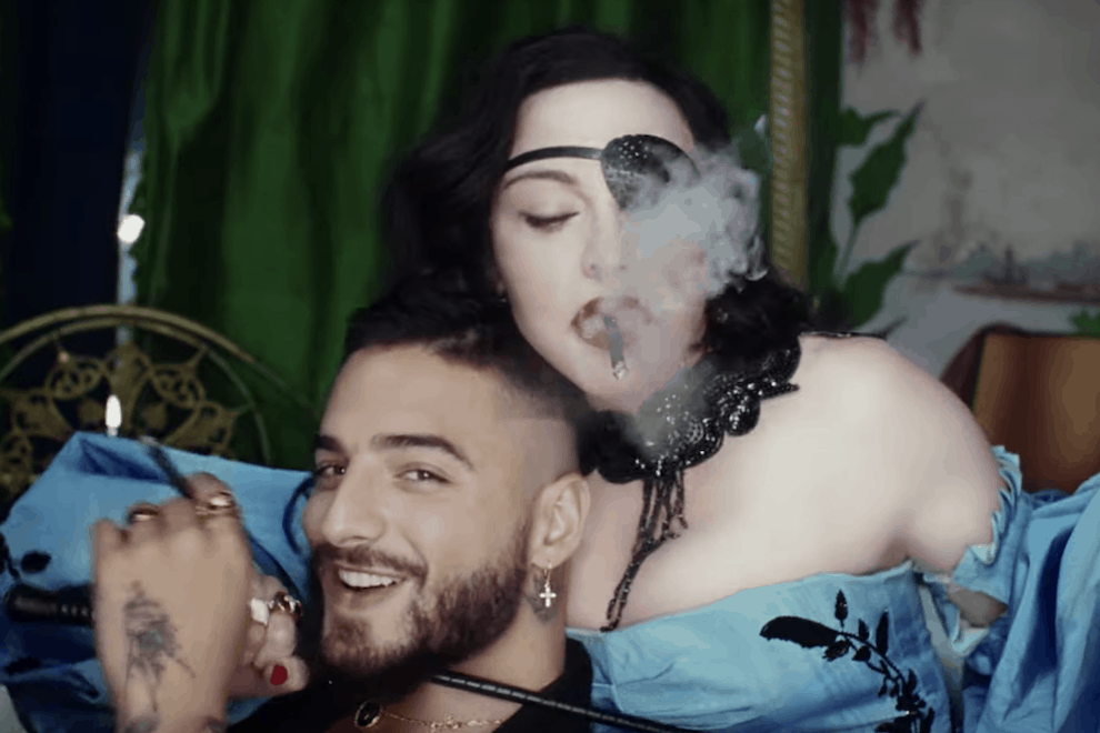 Madonna, Maluma, the 'Medellín' Music Video & The Magnificently Messy Live-Stream