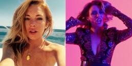 Lindsay Lohan Dannii Minogue