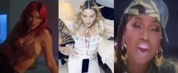 Dua Lipa Madonna Missy Elliott