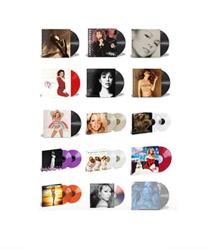 Mariah Carey Vinyls