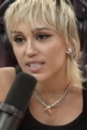 Miley Cyrus Joe Rogan